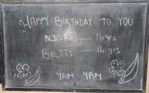 Njeri & Betty Birthday